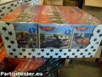 PARTIJ DISNEY MINI PUZZEL PLANES 35 STUKJES IN DISPLAY