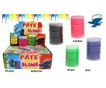 PARTIJ PUTTY SLIME OIL 30GRAM IN DISPLAY
