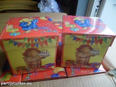 PARTIJ 20 PADDINGTON BEAR WENSKAARTEN MET ENVELOP IN BOX