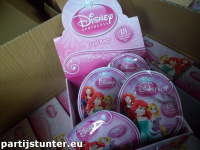 PARTIJ DISNEY FIGUREN IN DISPLAY ARIEL / REPELSTEELTJE