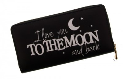 PARTIJ HIPPE PORTEMONNEE I LOVE YOU TO THE MOON AND BACK