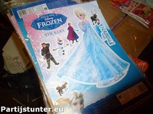 PARTIJ STICKERVEL DISNEY FROZEN