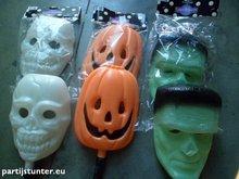 masker halloween 3 assorti