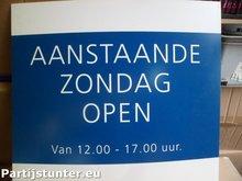 BORD A.S. ZONDAG OPEN