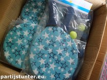 PARTIJ BEACHBALL SET 3 DELIG