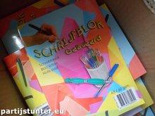 PARTIJ SCHRIJBLOK GELINIEERD A5
