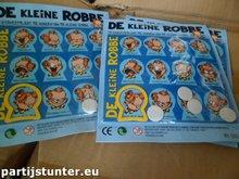 PARTIJ DE KLEINE ROBBE MAGNEETPLAAT EN MAGNEETJES
