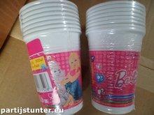 PLASTIC BEKERS BARBIE 200ML