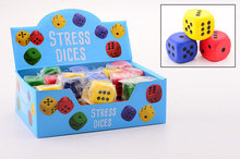 PARTIJ FUNTOY STRESS DOBBELSTEEN IN DISPLAY