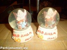 PARTIJ SNEEUWBOL ABRAHAM 50 JAAR