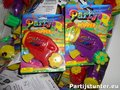 PARTIJ PARTY POPPER PISTOOL 6 SHOOTS